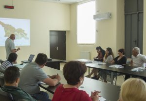 "Training: ""Applying Landscape and Sustainable Land Management ''(Gardabani municipality)"